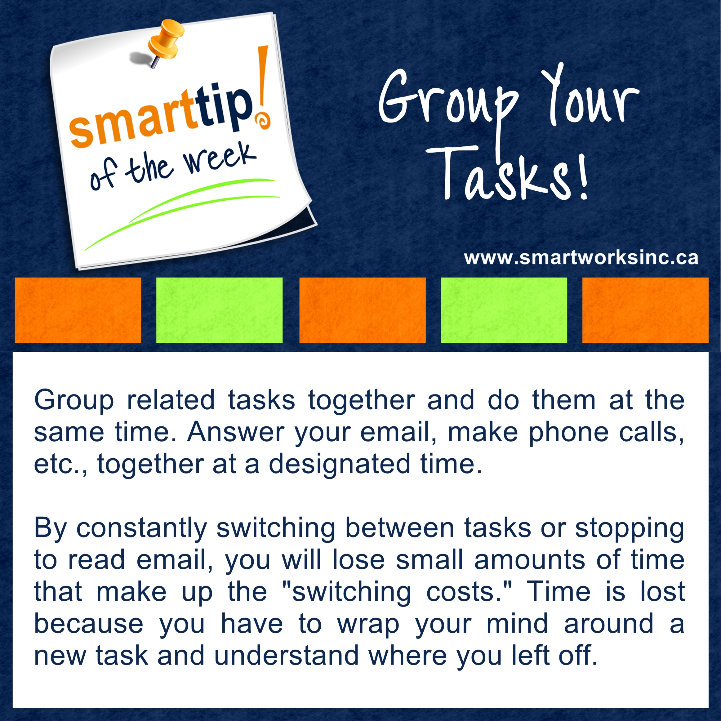 Group Your Tasks