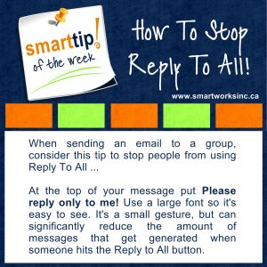 How To Stop Reply To All!