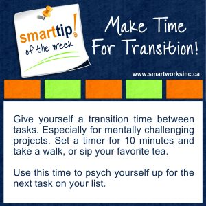 Make Time For Transition!