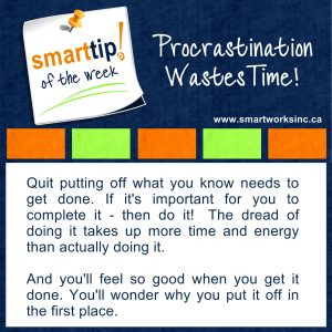 Procrastination Wastes Time!