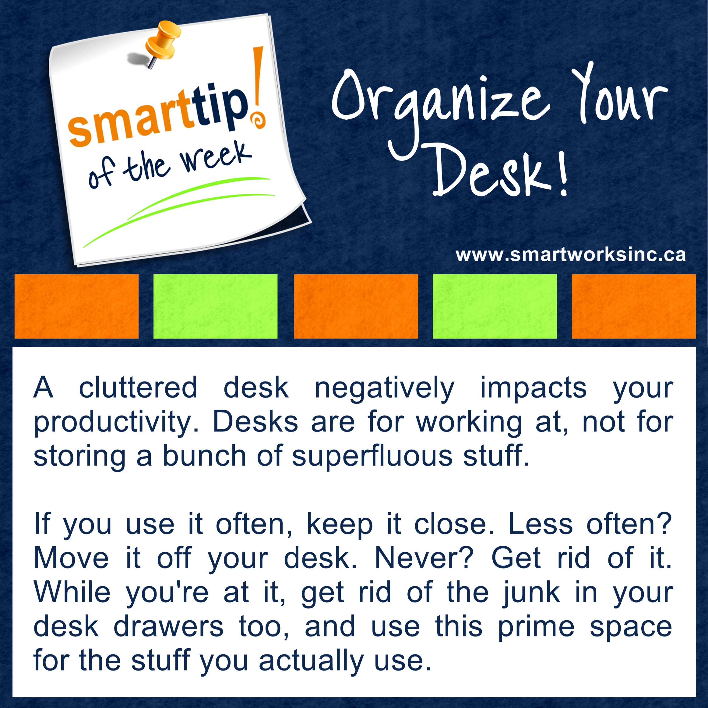 23 Organize Your Desk