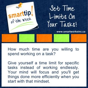 Set Time Limits On Your Tasks!