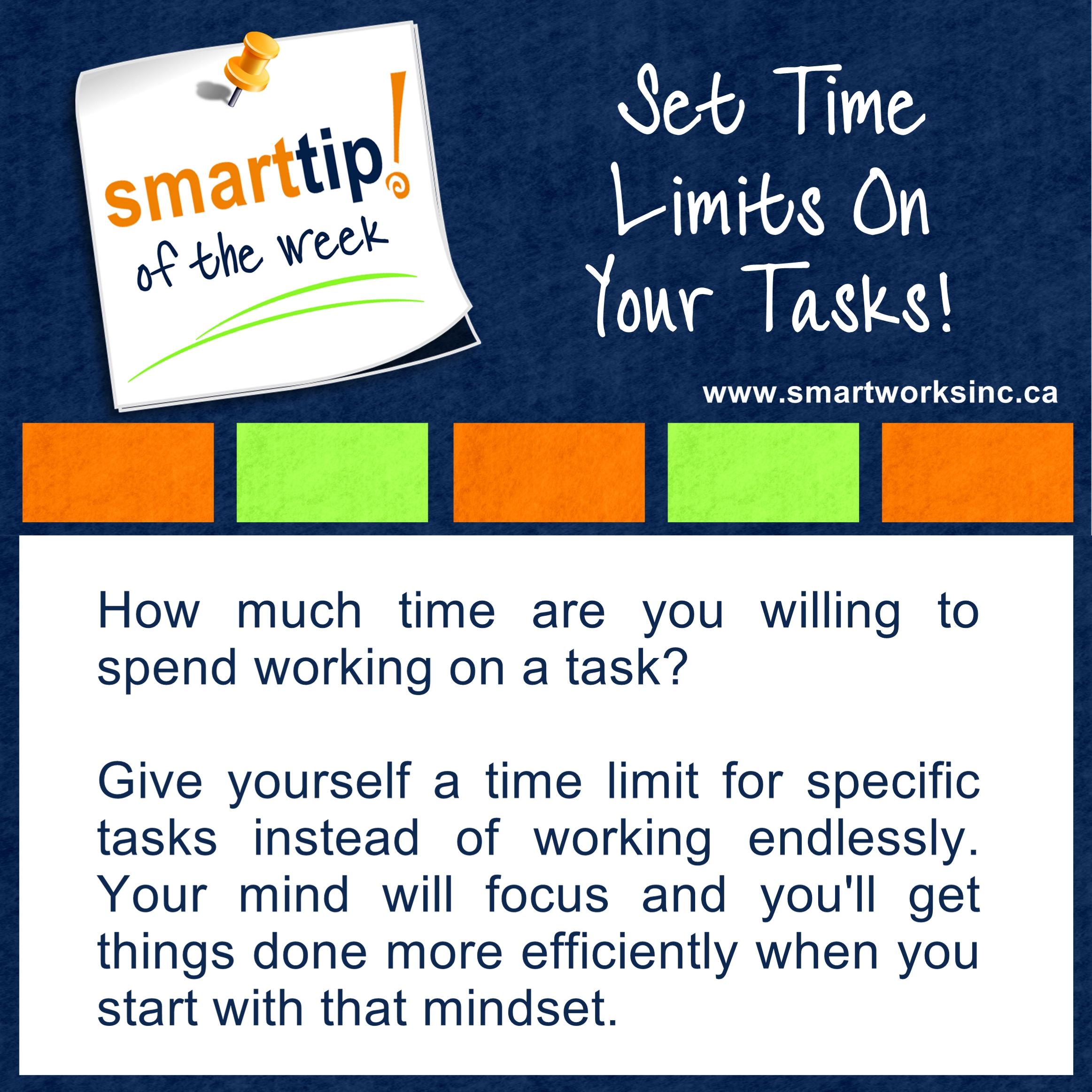 25 Set Time Limits On Your Tasks