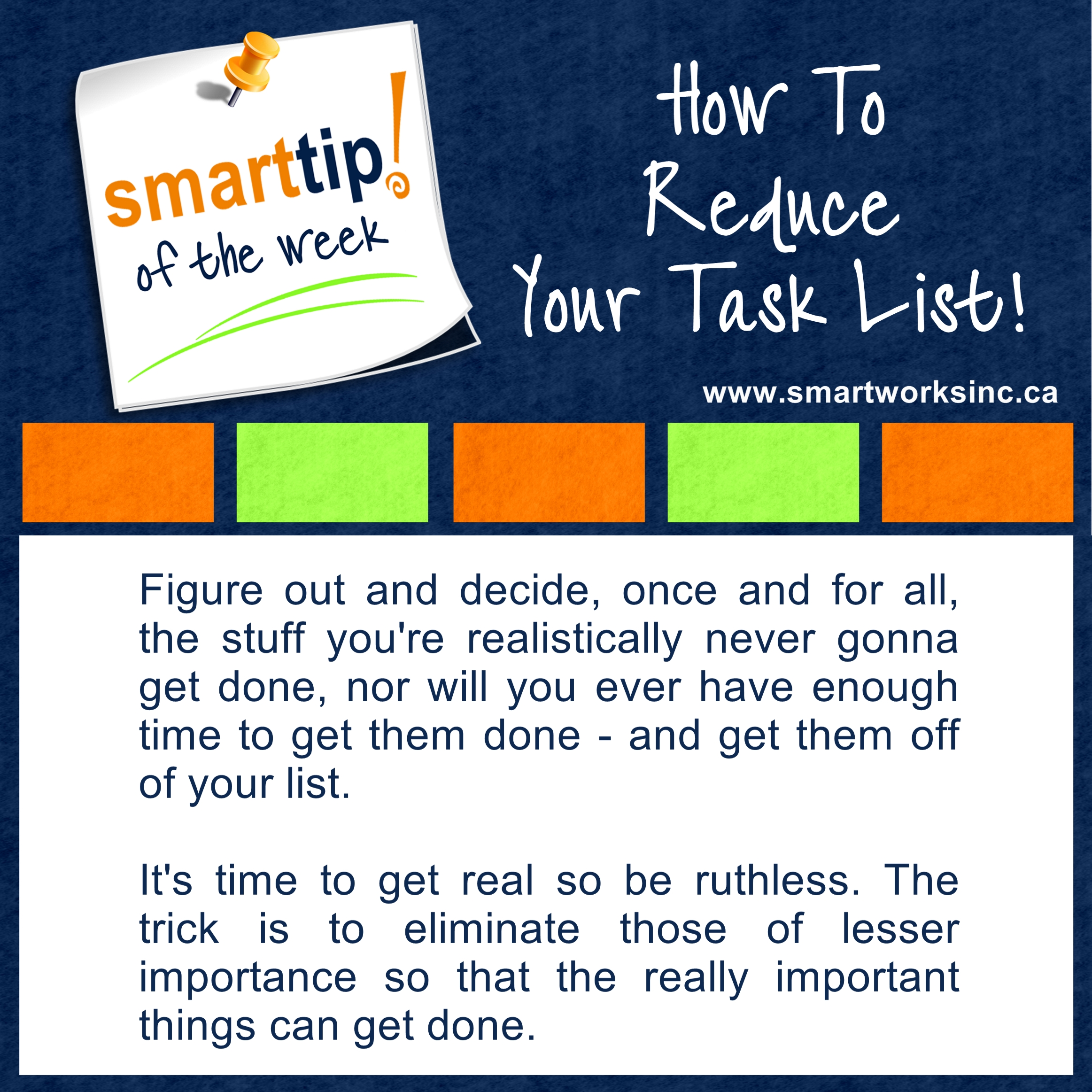 26 Reduce Your Task List