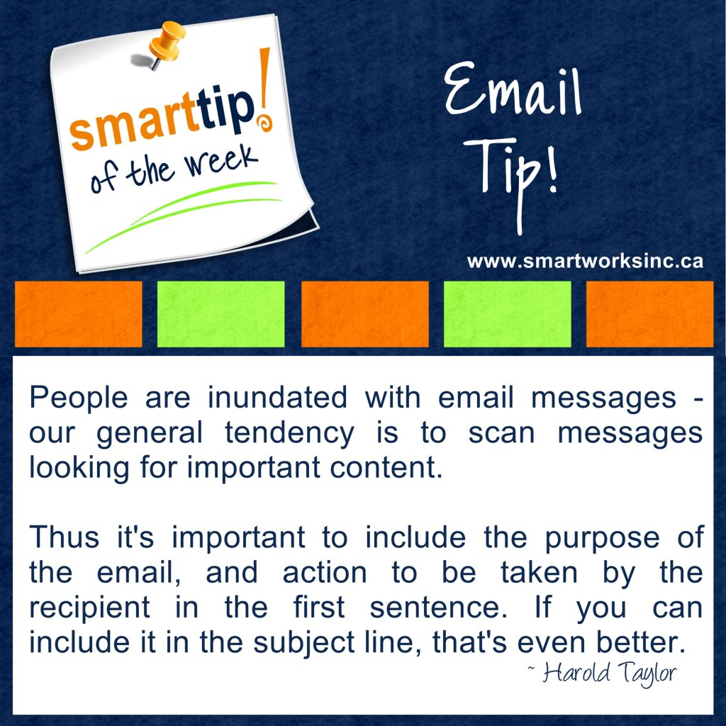 Email Tip!