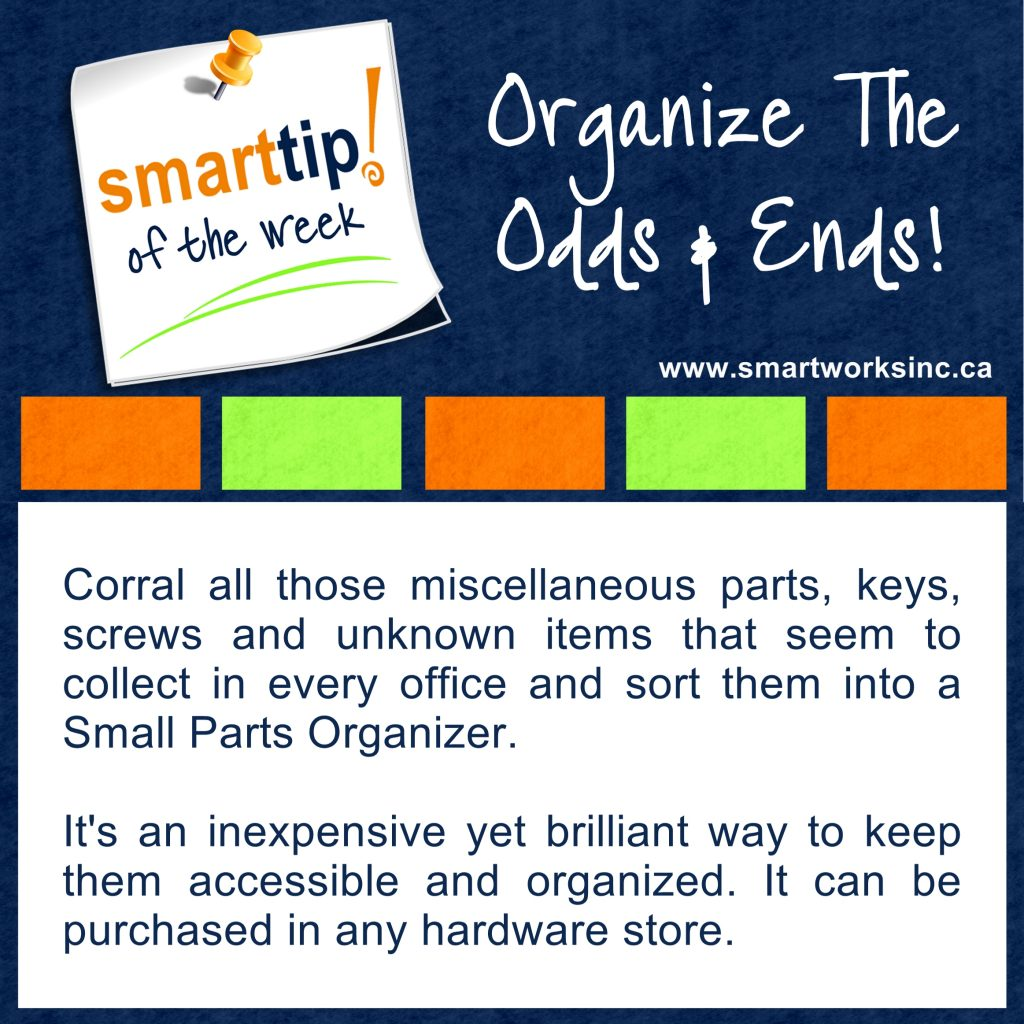 Organize the Odds & Ends!