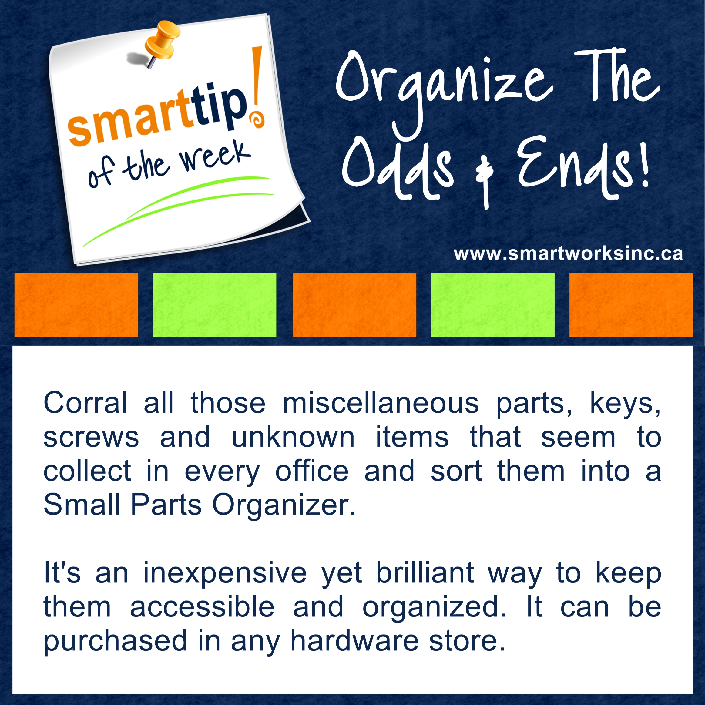 28 Organize The Odds & Ends