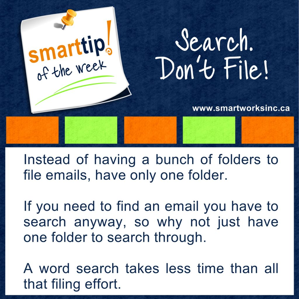 Search. Don't File!