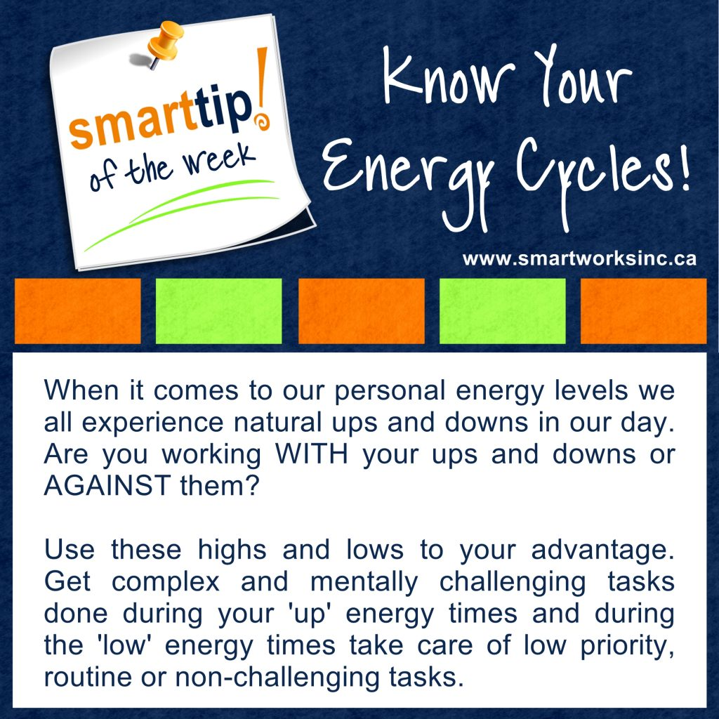 Know Your Energy Cycles!